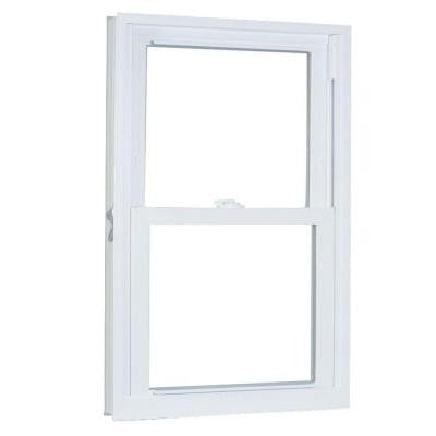 30.5 in. x 36.25 in. 70 Series Double Hung Buck PRO Vinyl Window - White