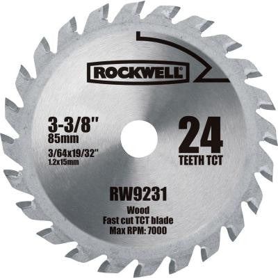 VERSACUT 3-3/8 in. 24-Teeth Carbide-Tipped Blade