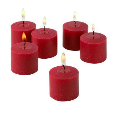 10 Hour Red Apple Cinnamon Scented Votive Candle (Set of 36)