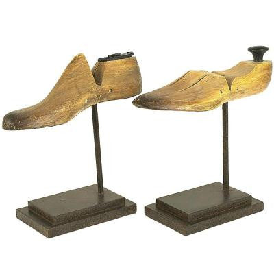 Shoe Form Decorative Stands (Set of 2)