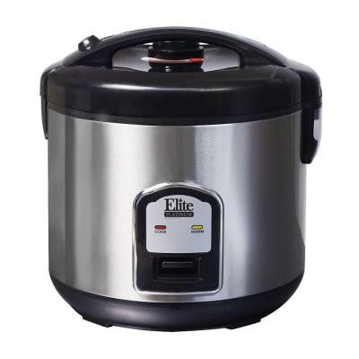 Platinum 20-Cup Sealed Rice Cooker in Stainless Steel