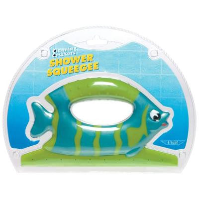 Cleaning Critters Fish Shower Squeegee