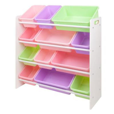 Kids Storage Organizer with 12 Bins