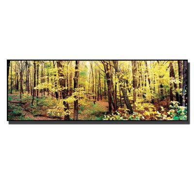 6 in. x 19 in. Trees Canvas Art