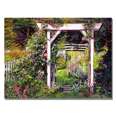 35 in. x 47 in. Botanical Paradise Canvas Art