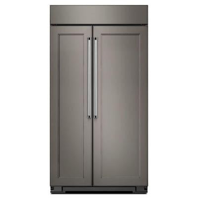 42 in. 25.5 cu. ft. Side by Side Refrigerator in Panel Ready