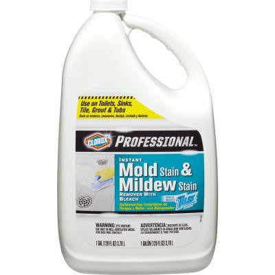 Professional 128 oz. Instant Mold and Mildew Stain Remover with Bleach (4-Pack)