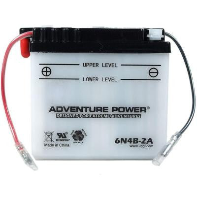 Conventional Wet Pack 6-Volt 4 Ah Capacity R Terminal Battery