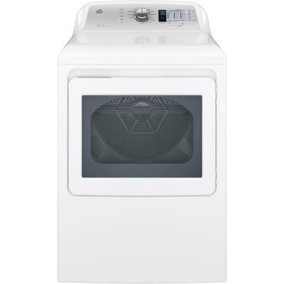 6.1 cu. ft. Electric Dryer in White