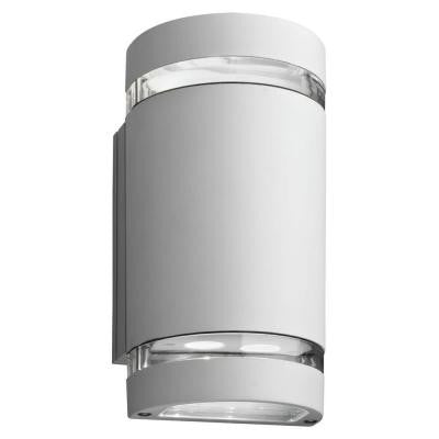 Wall Mount Outdoor White LED Wall Cylinder Up and Downlight