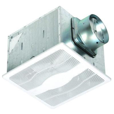 80 CFM Ceiling Single Speed Humidity Sensing Exhaust Fan