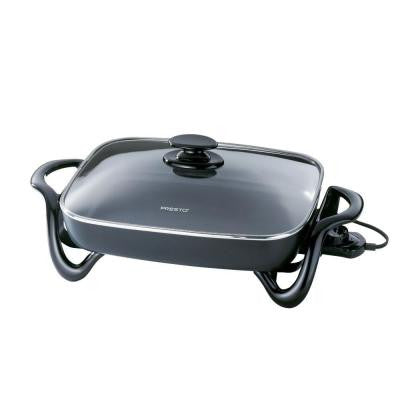 185 sq. in. Electric Skillet with Glass Cover