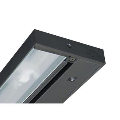 Pro-Series 9 in. Black Halogen Under Cabinet Light
