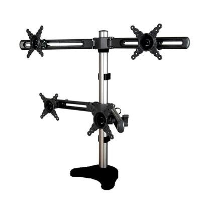 4 Head Desk Mount for 10 in. to 24 in. Monitor