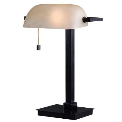 Wall Street 16 in. Oil-Rubbed Bronze Desk Lamp