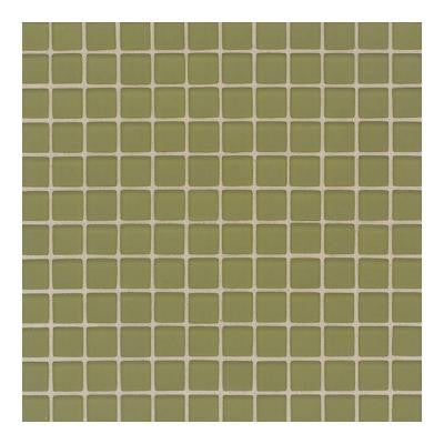 Maracas Cactus 12 in. x 12 in. x 8 mm Frosted Glass Mesh Mounted Mosaic Wall Tile