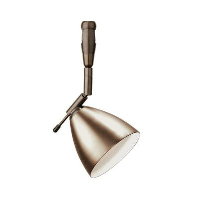 Orbit Swivel I 1-Light Bronze Track Lighting Head