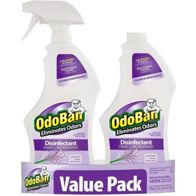 32 oz. Ready-to-Use Lavender Disinfectant Fabric and Air Freshener Value Pack