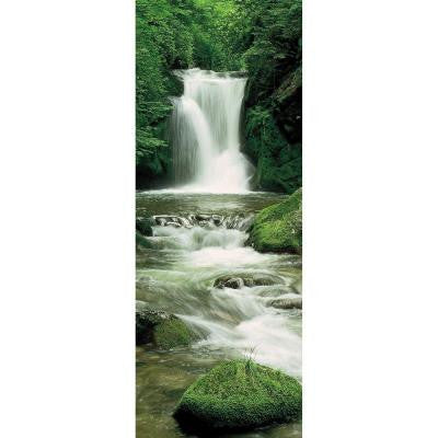 87 in. x 38 in. Ellowa Falls, Oregon Wall Mural