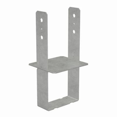 8 in. x 8 in. 7-Gauge Hot-Dip Galvanized Column Base