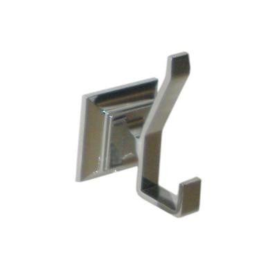 Leonard Collection Double Robe Hook in Chrome