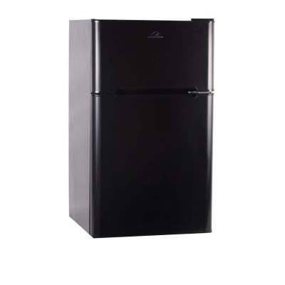 Commercial Cool 3.2 cu. ft. Mini Refrigerator with Freezer in Black