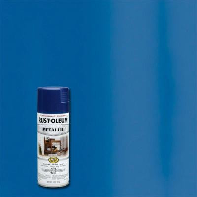 11 oz. Protective Enamel Metallic Cobalt Blue Spray Paint