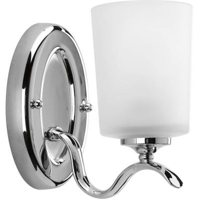 Inspire Collection 1-Light Chrome Bath Light