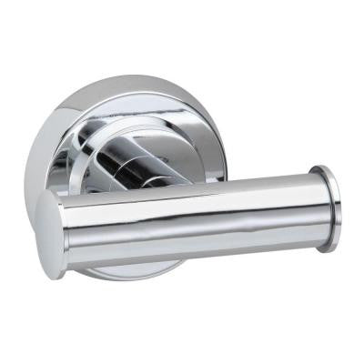 Lux Double Robe Hook in Polished Chrome