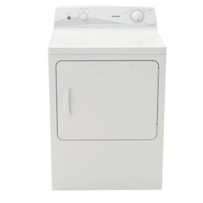 6.0 cu. ft. Electric Dryer in White