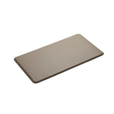 Nantucket Creme 20 in. x 36 in. Anti Fatigue Comfort Mat