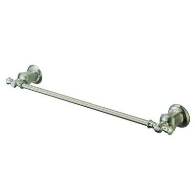 Verdanza 24 in. Towel Bar in Brushed Nickel