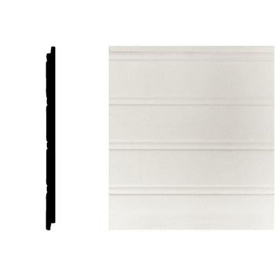 5/16 in. x 5-29/32 in. x 32 in. MDF Tongue and Groove Wainscot (1-Piece)