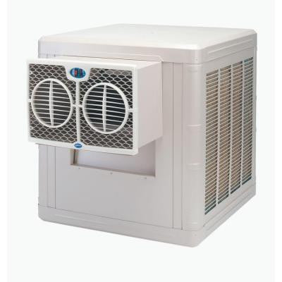 3000 CFM 2-Speed Front Discharge Window Evaporative Cooler for 700 sq. ft. (with Motor)