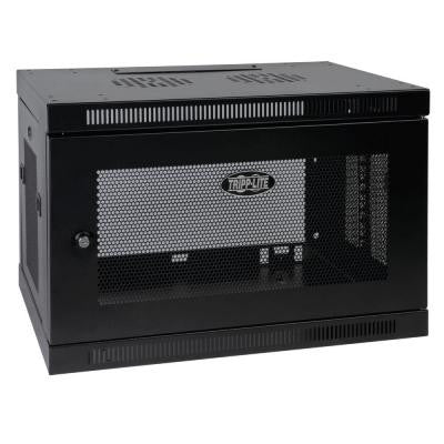 9U Wall Mount Rack Enclosure Cabinet Wallmount with Door and Sides