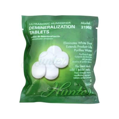 Ultrasonic Humidifier Demineralization Tablets (12-Pack)