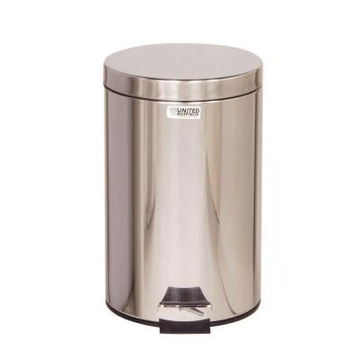 Medi-Can 3.5 Gal. Stainless Steel Step-On Medical Trash Can