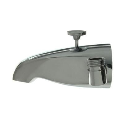 5 in. Tub Spout with Shower Connection in Polished Chrome
