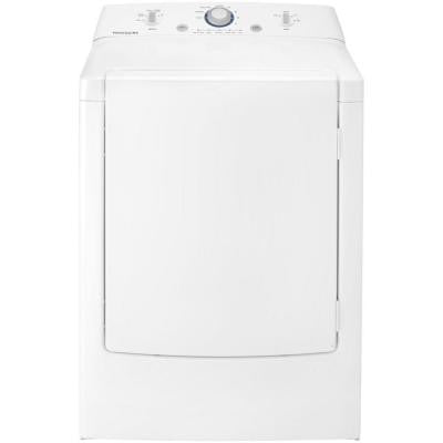 7.0 cu. ft. Gas Dryer in White