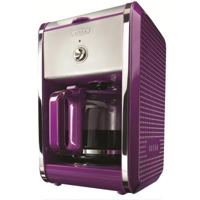 12-Cup Switch Coffee Maker in Purple