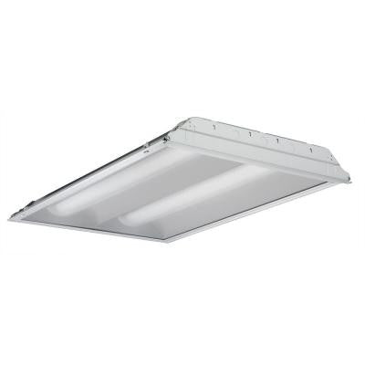 4 ft. 2-Light Fluorescent Volumetric T5 Troffer