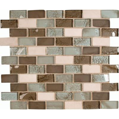 Cosmos Blend 12 in. x 12 in. x 8 mm Glass Stone Mesh-Mounted Mosaic Tile
