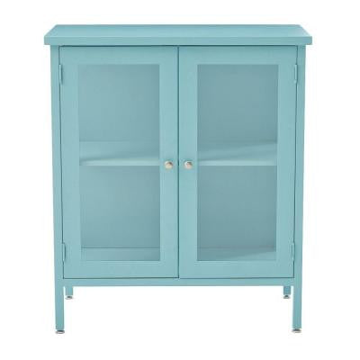 Elixir 33.25 in. x 29 in. Steel Storage Cabinet in Blue