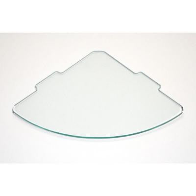 1/4 in. Curve Glass Corner Shelf (Price Varies By Size)