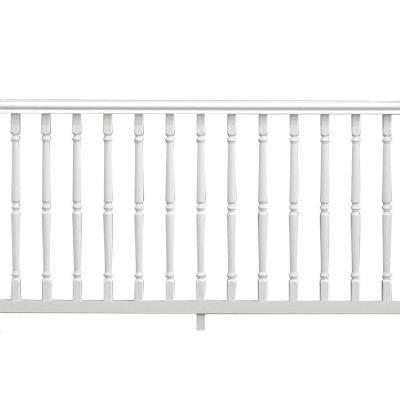 6 ft. x 36 in. Vinyl Williamsburg Pre-Built Handrail