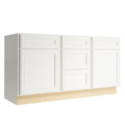 Boden 60 in. W x 31 in. H Vanity Cabinet Only in Lace