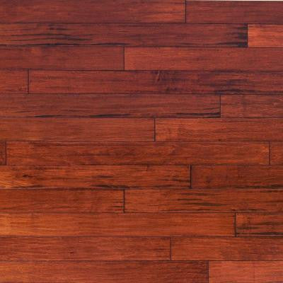 Scraped Vintage Maple Ginger 3/4 in. Thick x 5 in. Wide x Random Length Solid Hardwood Flooring (23 sq. ft. / case)