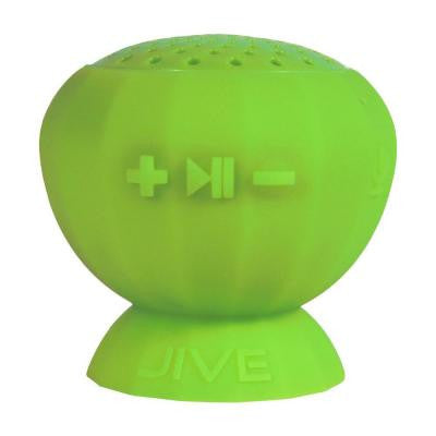 Lyrix JIVE Bluetooth Water Resistant Speaker - Lime