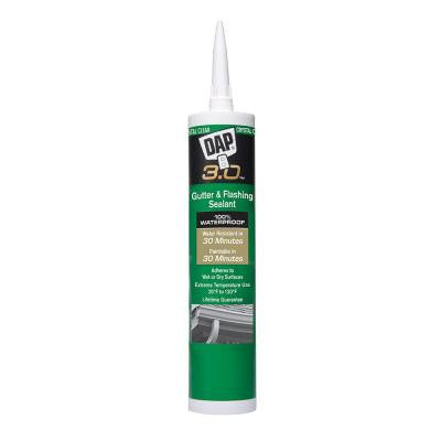 3.0 9 oz. Crystal Clear Premium Gutter and Flashing Sealant