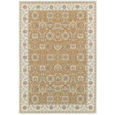 Basile Beige 7 ft. 10 in. x 11 ft. 1 in. Area Rug
